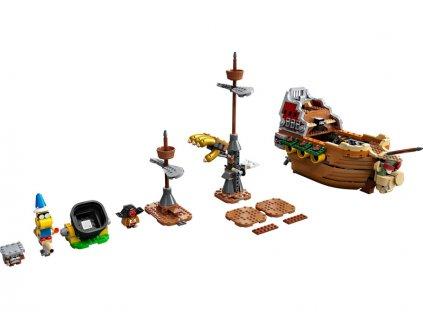 LEGO Super Mario - Bowserova vzducholoď – rozšiřující set - LEGO71391