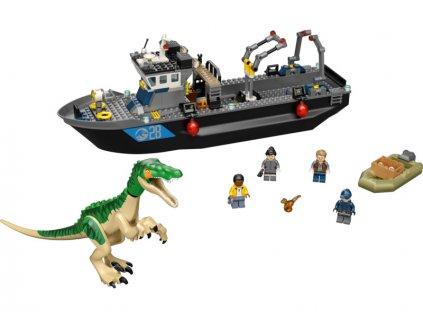 LEGO Jurský Park - Útěk baryonyxe z lodě - LEGO76942