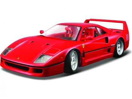 Bburago Original Ferrari F40 1:18 červená - BB18-16601