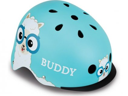 Globber - Dětská přilba Elite Lights Sky Blue Buddy XS/S - GL-507-105
