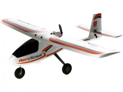 Hobbyzone AeroScout 1.1m SAFE RTF, Spektrum DXS - HBZ38000