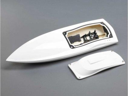 Proboat trup lodi, kabina bílá: Impulse 32 - PRB281121