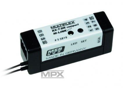 55819 Přijímač RX-7 DR compact M-LINK 2,4GHz - 1M15015