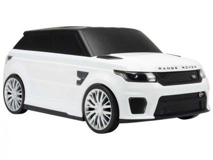 Volare - Dětské odrážedlo / kufr Range Rover Sport SVR bílé - VO-1101