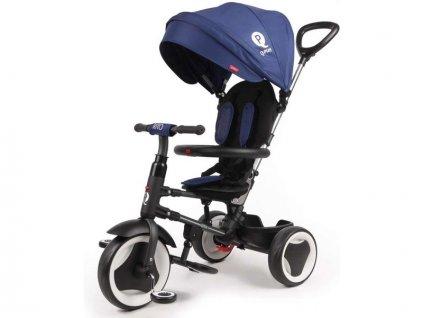Volare - Dětská tříkolka Rito Deluxe modrá - VO-860