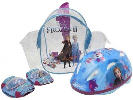 Volare - Dětská přilba 51-55cm a chrániče Disney Frozen 2 - VO-946