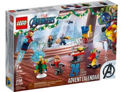 LEGO Super Heroes - Adventní kalendář Avengers - LEGO76196