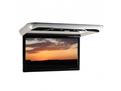 """Stropní LCD monitor 19"""" s OS. Android USB/SD/HDMI/FM, dálkové ovládání se snímačem pohybu, šedý - ds-190Agr"""
