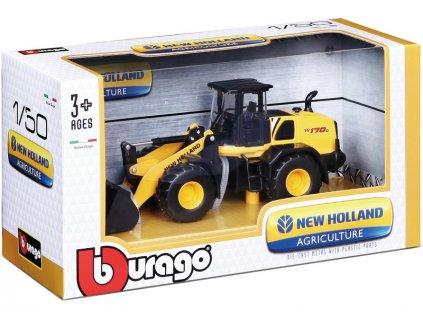 Bburago stavební stroje 1:50 (sada 12ks) - BB18-32080