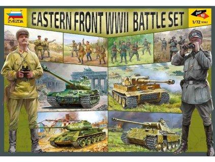 Zvezda východní fronta WWII (1:72) - ZV-5203