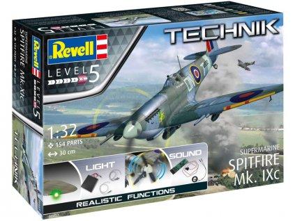 Revell Technik Supermarine Spitfire Mk.Ixc (1:32) - RVL00457