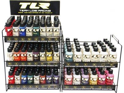 TLR MAXI sada silikonových olejů, duální stojan - TLR74100
