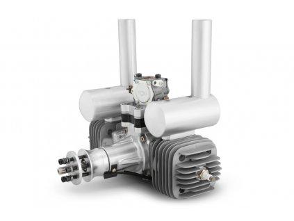 Motor DLA 116 ccm včetně tlumiče a příslušenství - 2DLA0116