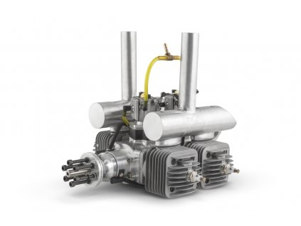 Motor DLA 128 ccm (čtyřválec, boxer) včetně tlumiče a příslušenství - 2DLA0128