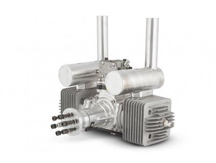 Motor DLA 180 ccm včetně tlumiče a příslušenství - 2DLA0230