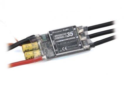 Brushless control + Telemetrie 35 XT60 - 33735NXT60
