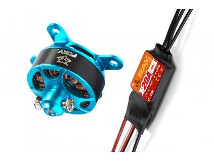 Combo set FOXY G3 C2206-1500 + RAY G2 20A regulátor - 3BL1610C