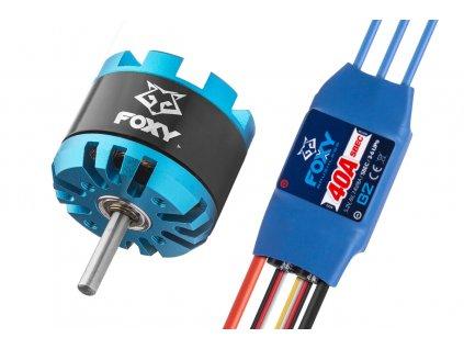 Combo set FOXY G3 C2808-1500 + FOXY G2 40A regulátor - 3BL1660C
