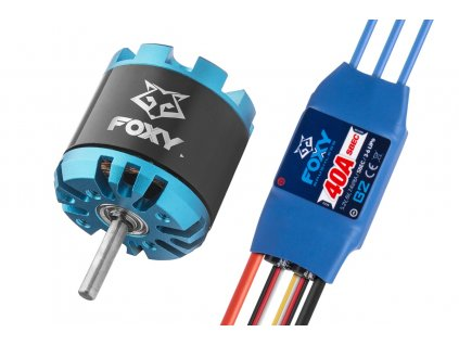 Combo set FOXY G3 C2814-1000 + FOXY G2 40A regulátor - 3BL1665C