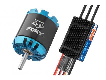 Combo set FOXY G3 C2820-950 + FOXY G2 60A regulátor - 3BL1690C