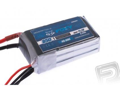 FOXY G3 - Li-Po 850mAh/11,1V 40/80C 9,4Wh - 3EB6001