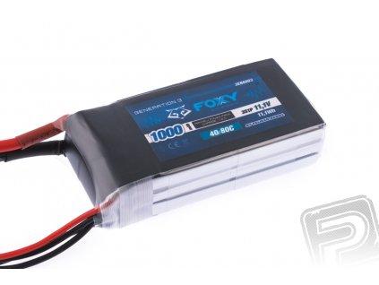 FOXY G3 - Li-Po 1000mAh/11,1V 40/80C 11,1Wh - 3EB6003