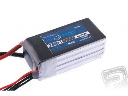 FOXY G3 - Li-Po 1300mAh/14,8V 40/80C 19,24Wh - 3EB60050