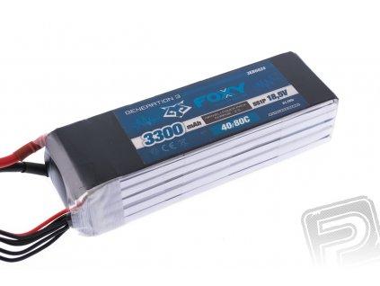 FOXY G3 - Li-Po 3300mAh/18,5V 40/80C 61,1Wh - 3EB6024