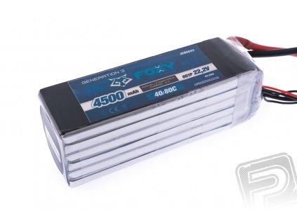 FOXY G3 Li-Po 4500mAh/22.2V 40/80C 99.9Wh - 3EB6033