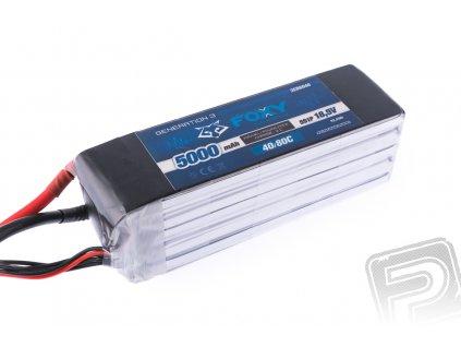 FOXY G3 - Li-Po 5000mAh/18,5V 40/80C 92,5Wh - 3EB6040