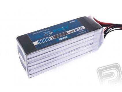 FOXY G3 - Li-Po 5000mAh/22,2V 40/80C, 111Wh - 3EB6042