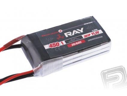 G4 RAY Li-Po 450mAh/11,1 30/60C Air pack - 3EB7106