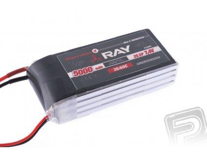 G4 RAY Li-Po 5000mAh/7,4 30/60C RX - 3EB7154