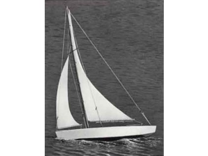 Ace Racing Sloop plachetnice 432mm - 4SP1102