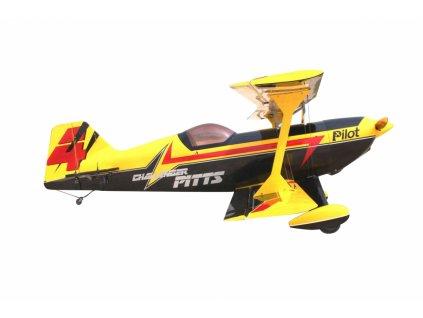 "73"" Pitts Challenger Žlutý (1,85m) - 4ST1973P-YB"