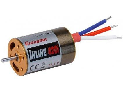 Inline 420i 11,1V inrunner brushless motor - 6549