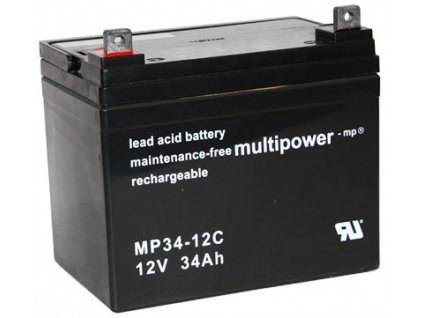 Pb akumulátor MULTIPOWER 12V/34,0Ah - 8KM8464