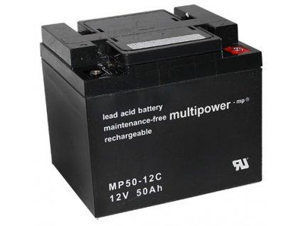 Pb akumulátor MULTIPOWER 12V/50,0Ah - 8KM8465