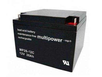 Pb akumulátor MULTIPOWER 12V/26,0Ah - 8KM8466
