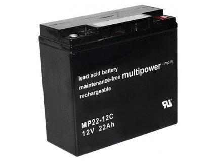 Pb akumulátor MULTIPOWER 12V/22,0Ah - 8KM8467