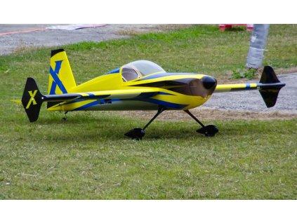 """74"""" Slick 580 EXP - Žlutá/Modrá 1,87m - A366YB"""