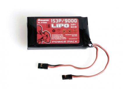 Vysílačový pack, LiPo 1S3P/9000 3,8V TX, 34,2Wh - BT8084