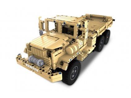 Vojenský vůz - RC stavebnice z kostek - DEC51042W
