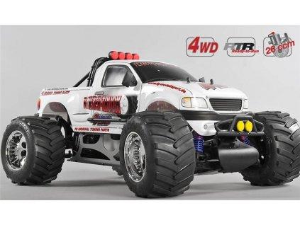FG Stadium Truck WB 535, 4WD, RTR, bílá karoserie - FG24000R