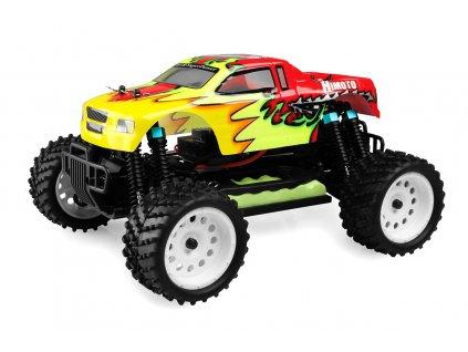 Himoto Monster Truck 1/16 RTR 2,4GHz - červená - HME16XM-R