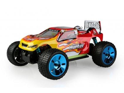 Himoto Truggy 1/16 RTR 2,4GHz Brushless - červená - HME16XT-BLR