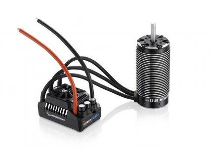 COMBO MAX5 s EZRUN 56113 800Kv - černý - HW38010600