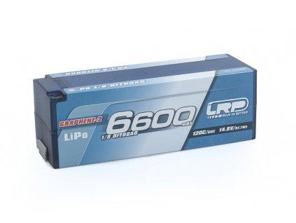 P5 1/8 Offroad Stock Spec GPRAPHENE-2 6600mAh Hardcase 14,8V LiPo - 120C/60C - L430269