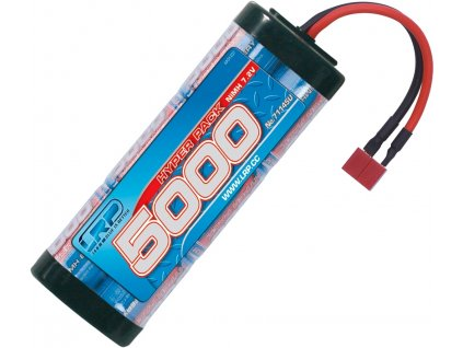 Hyper Pack 5000 - 7.2V - 6 článkový NiMH Stickpack - US - L71145U