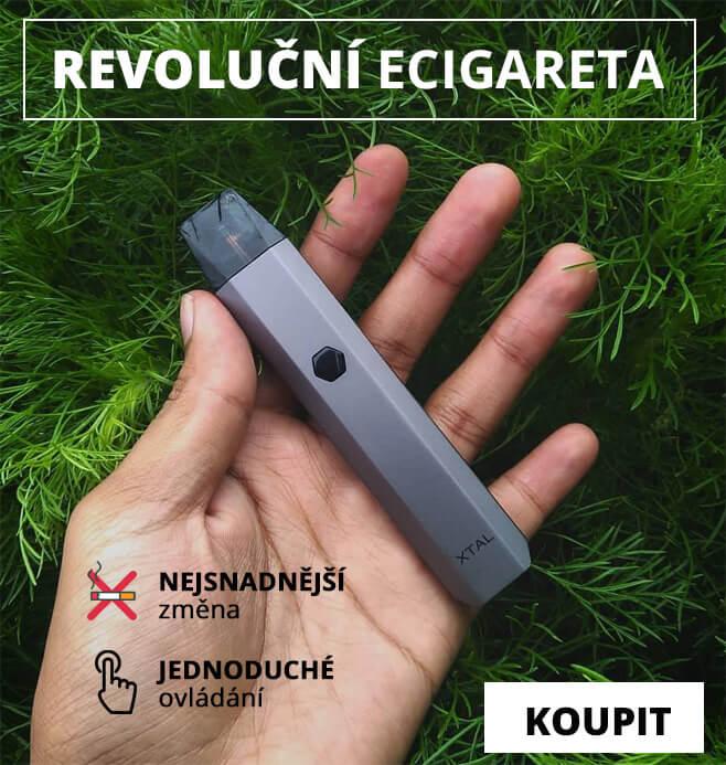 Nejlepší elektronická cigareta na trhu Xtal